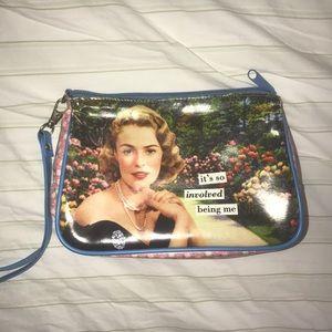 Handbags - Vintage look makeup bag